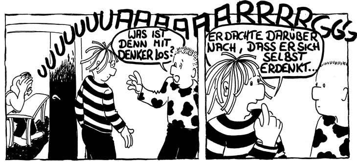 Denken Cartoon