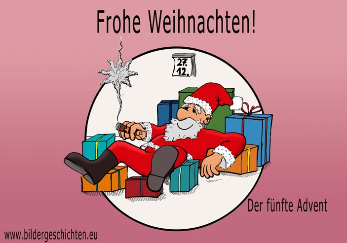 frohe weihnachten cartoon. Black Bedroom Furniture Sets. Home Design Ideas