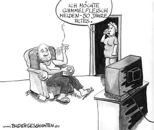 Cartoon langzeitarbeitslos karikatur